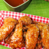 Thumbnail image for Crispy Sriracha Chicken Wings- Tasty Bites for the Big Game Recipe Round-Up