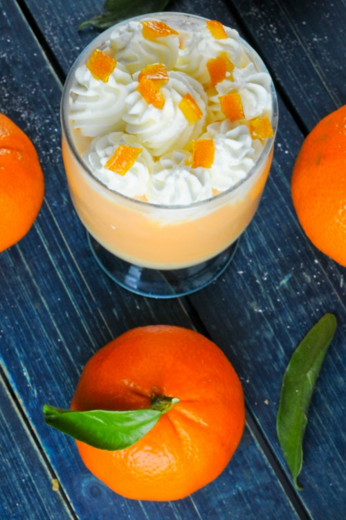 Creamsicle Pudding