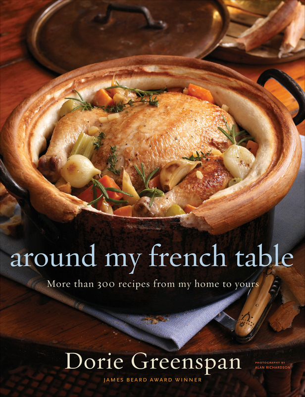 Post image for Dorie Greenspan's Cookbook 'Around My French Table' Arrived Today!