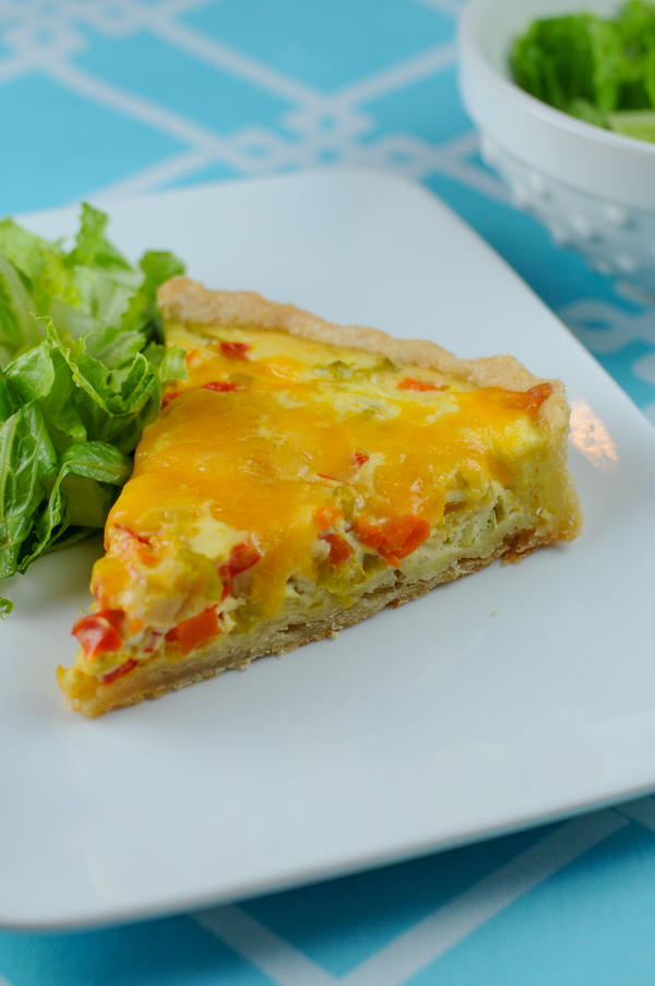 Post image for Quiche Maraîchère- French Fridays with Dorie