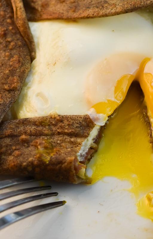 Buckwheat Crepes With Ham Cheese And Egg David Lebovitz S