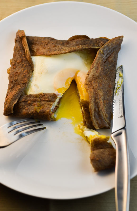 Buckwheat Crepes With Ham Cheese And Egg David Lebovitz S